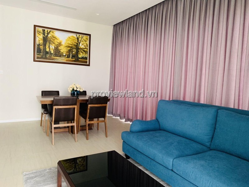 Apartment for rent on Diamond Island, middle floor, using area 117m2, full furnished