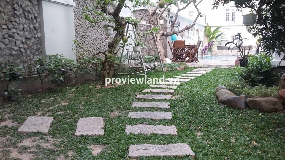 Bán biệt thự Thảo Điền 310m2 4 phòng ngủ hồ bơi sân vườn rộng rãi