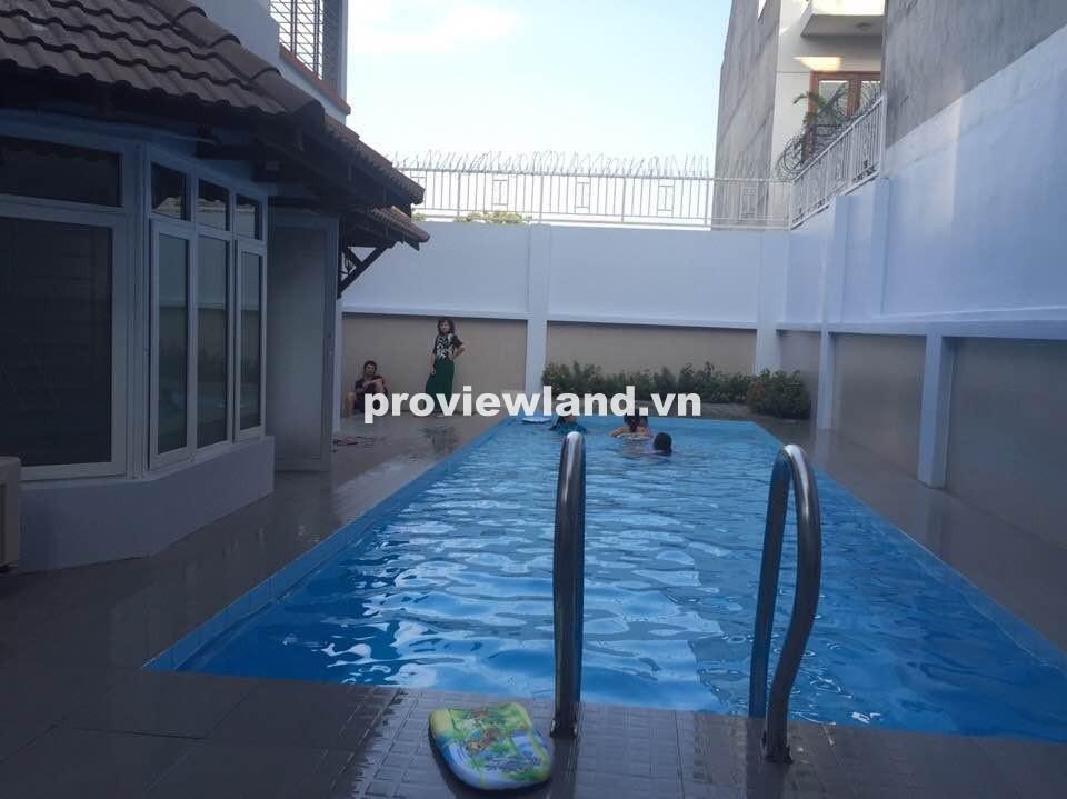 Bán biệt thự quận 2 khu Compound đường Quốc Hương 450m2 sân vườn hồ bơi