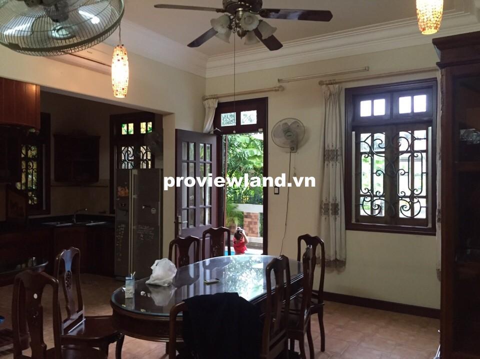 Bán biệt thự quận 2 khu Compound Thảo Điền 352m2 5 phòng ngủ có hồ bơi