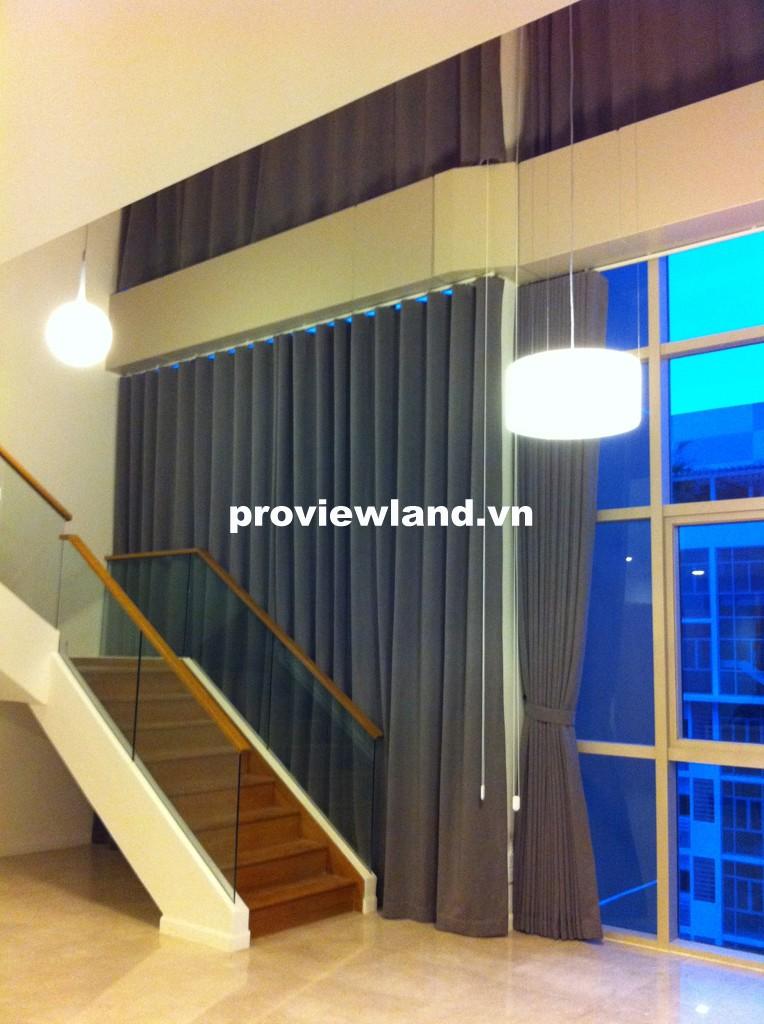 Bán Penthouse The Vista 472m2 5 phòng ngủ tầng 23 có sân vườn