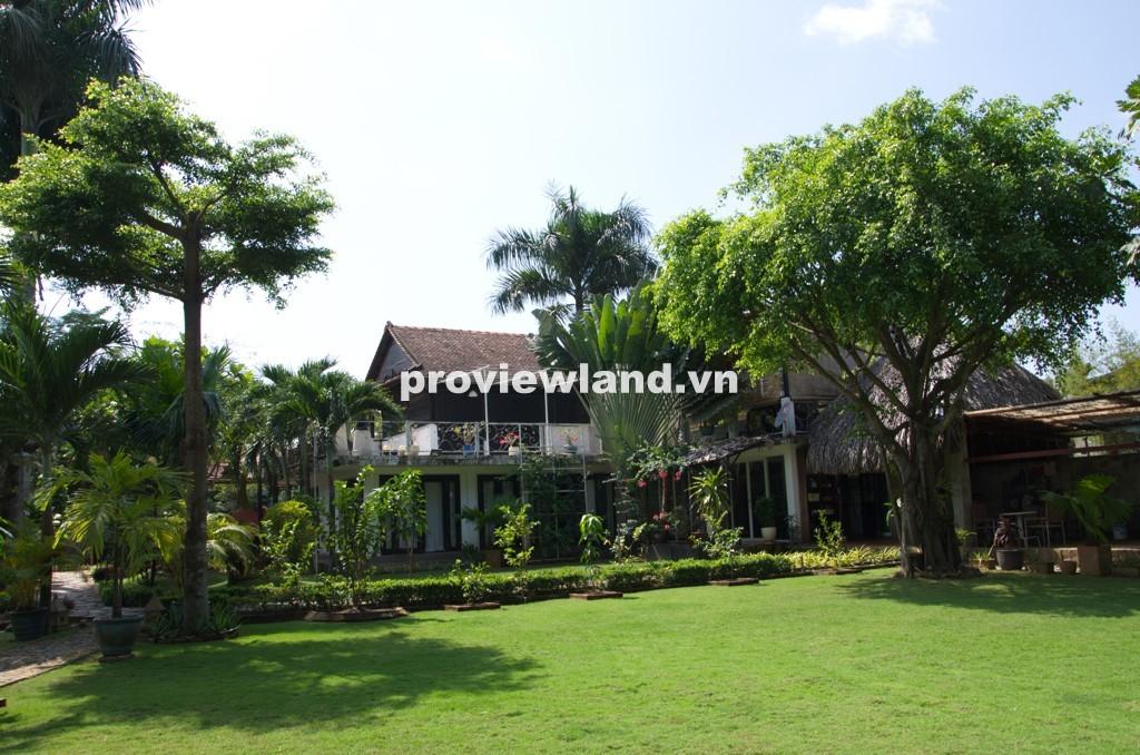 Cho thuê biệt thự 2000m2 đường Phước Long quận 9 sân vườn rộng rãi