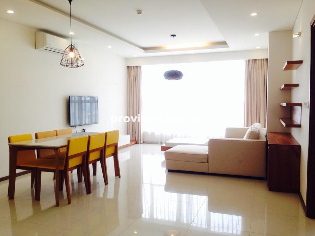 Cho thuê căn hộ Thảo Điền Pearl quận 2 tầng cao 137m2 3 phòng ngủ ban công view sông