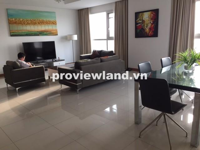 Cho thuê căn hộ XI Riverview 201m2 3 phòng ngủ tầng cao view sông