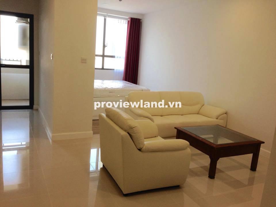 Cho thuê căn hộ studio ICON 56 diện tích 50m2 tầng cao 1 phòng ngủ