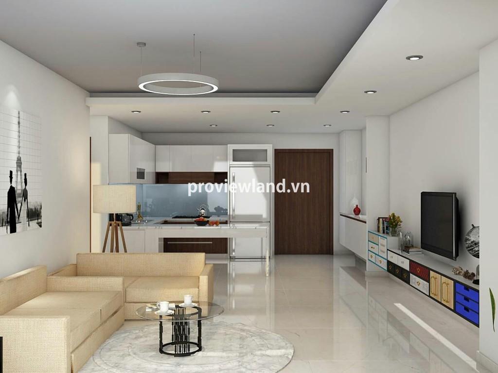 Cho thuê căn hộ Pearl Plaza quận Bình Thạnh 2 phòng ngủ thiết kế hiện đại