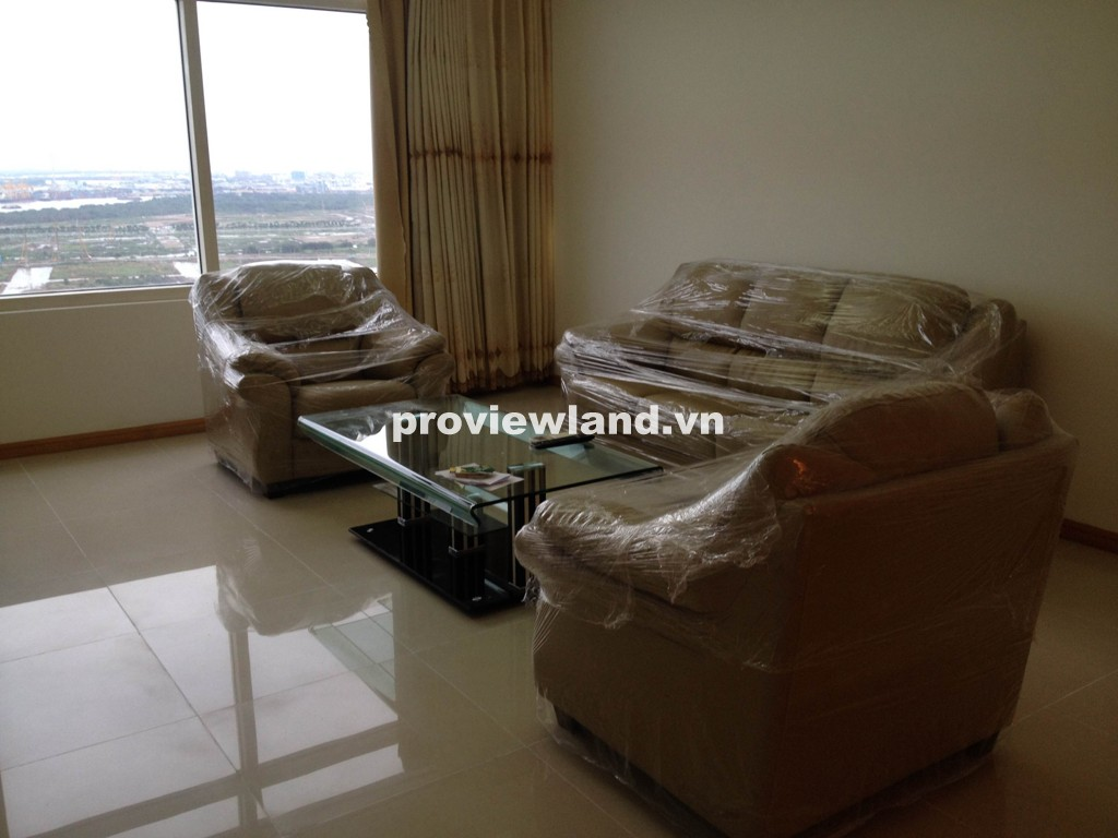 Cho thuê căn hộ Saigon Pearl 151m2 block Ruby 1 3 phòng ngủ tầng cao