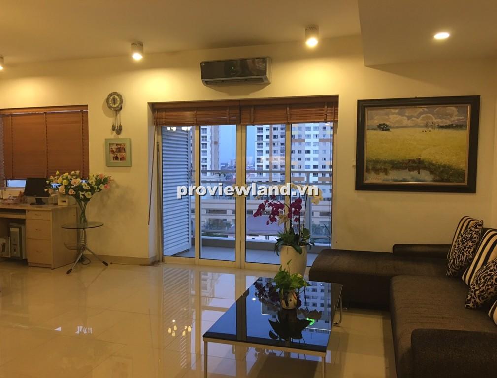 Bán căn hộ cao cấp River Garden 132m2 tầng thấp 2 phòng ngủ có ban công