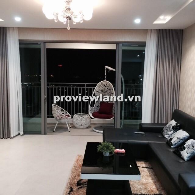 Cho thuê căn hộ quận 7 Riviera Point 100m2 2 phòng ngủ view cầu Phú Mỹ