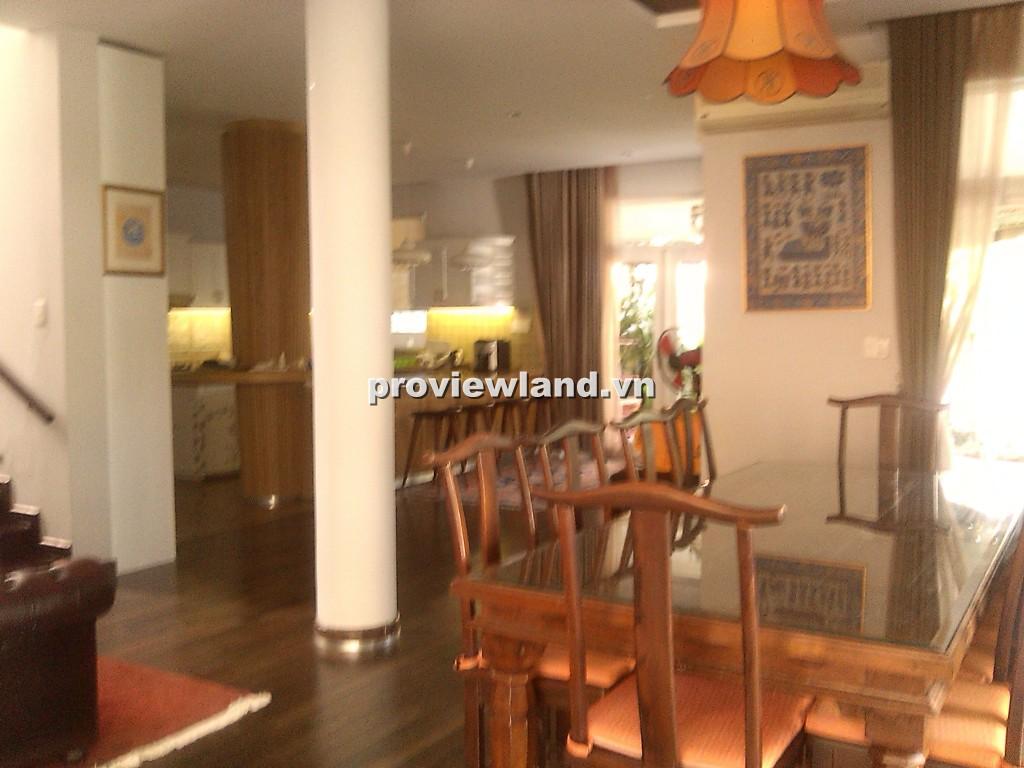 Cho thuê biệt thự khu Hưng Thái 4 phòng ngủ thoáng mát có hồ bơi