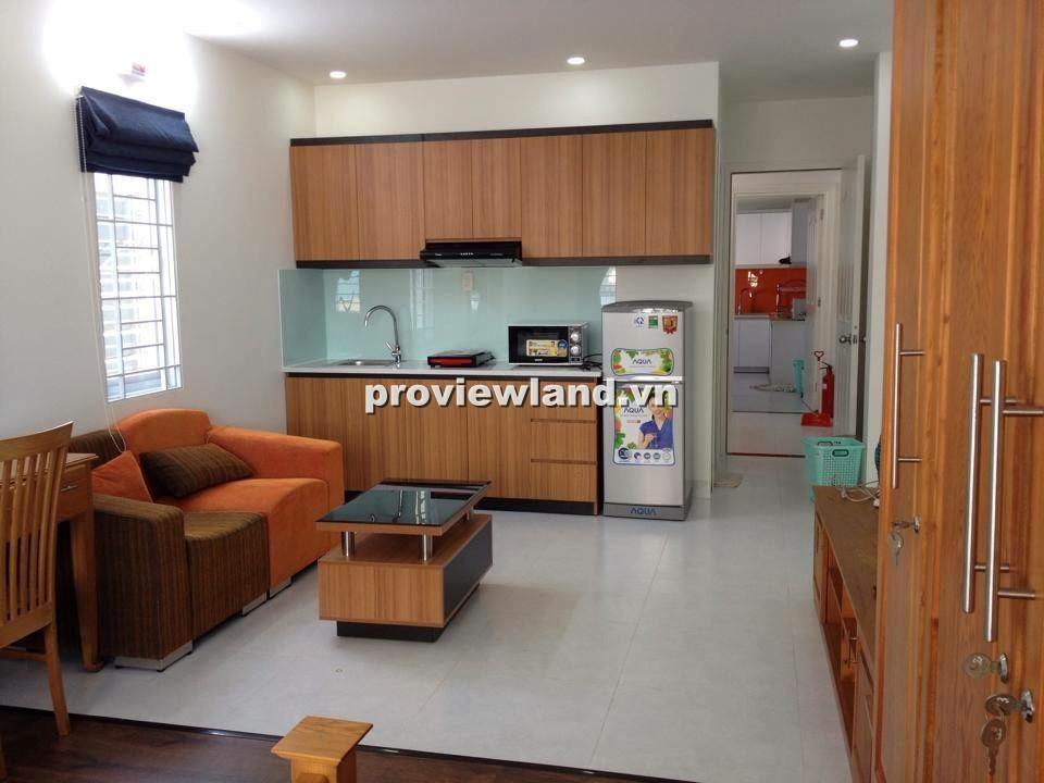 Cho thuê căn hộ dịch vụ quận 1 đường Phan Ngữ 50m2 đầy đủ nội thất