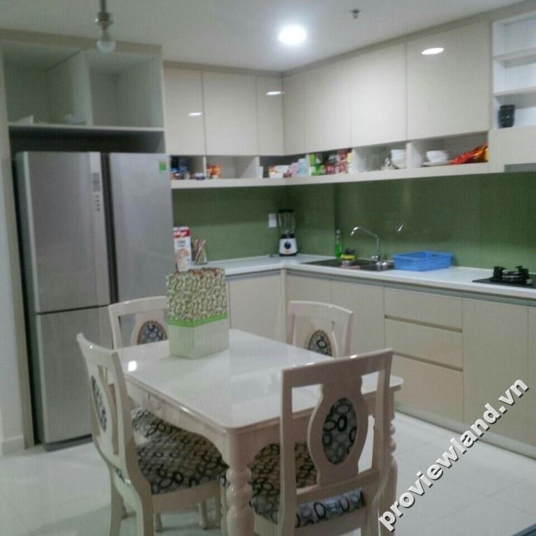 Cho thuê căn hộ Tropic Garden lầu thấp 88m2 2 phòng ngủ thiết kế hiện đại