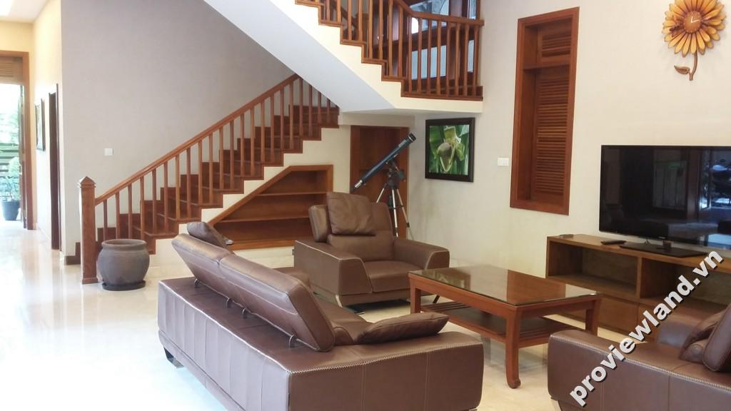 Biệt thự Fideco quận 2 cho thuê nhà mới đẹp nội thất hiện đại