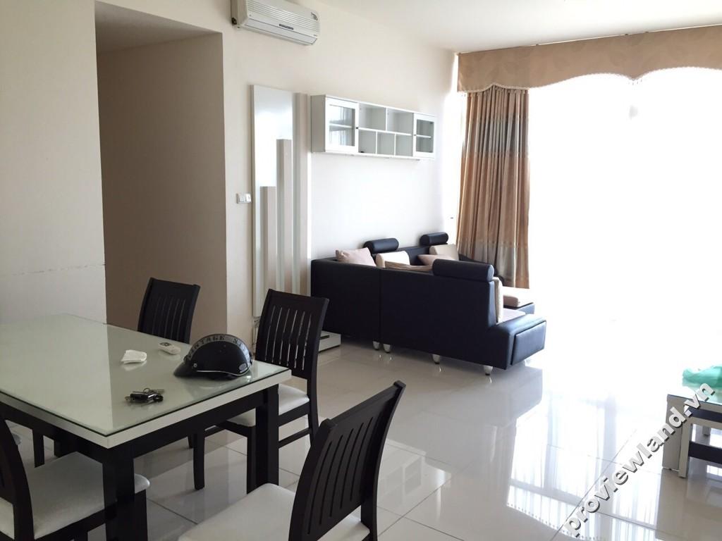 Cho thuê căn hộ quận 2 The Vista 135m2 3 phòng ngủ đầy đủ tiện ích