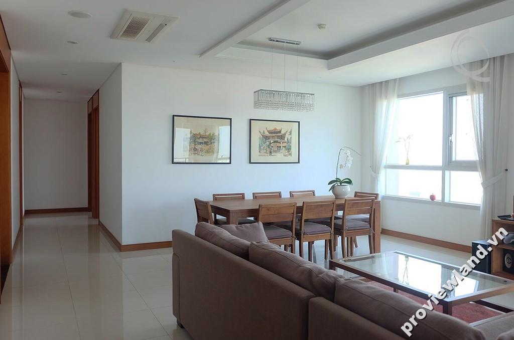 Căn hộ XI Riverview cho thuê tháp T1 201m2 3 phòng ngủ view sông tuyệt đẹp