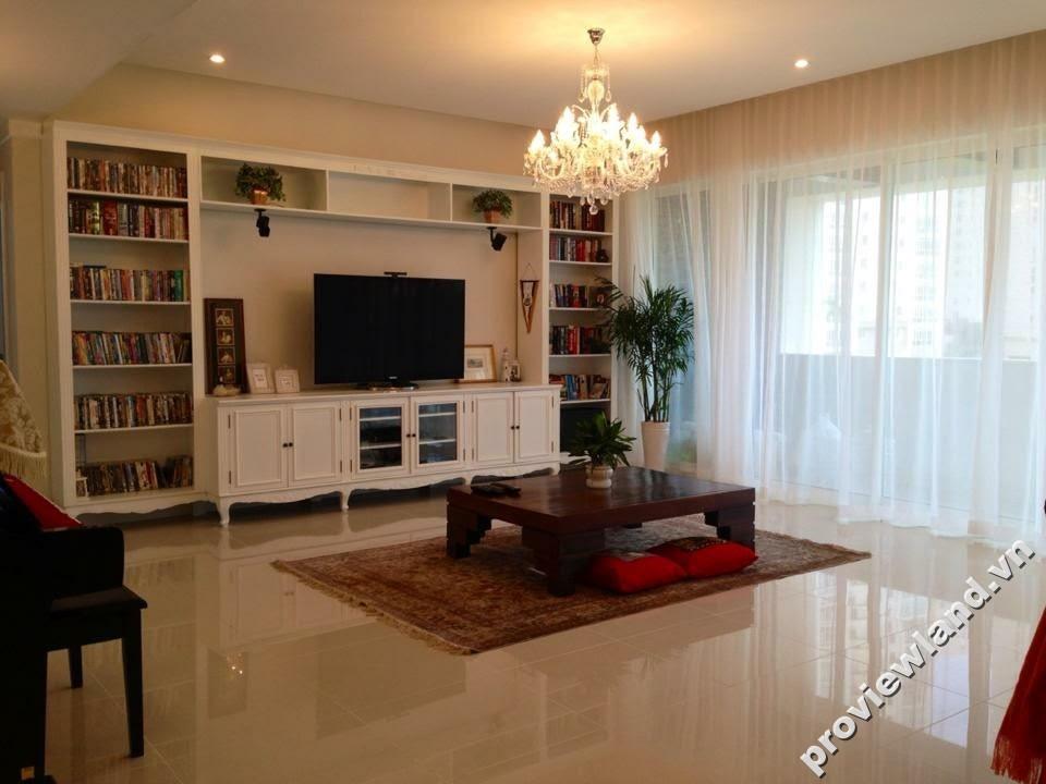 Căn hộ The Estella 171m2 3 phòng ngủ cần cho thuê thiết kế thoáng mát