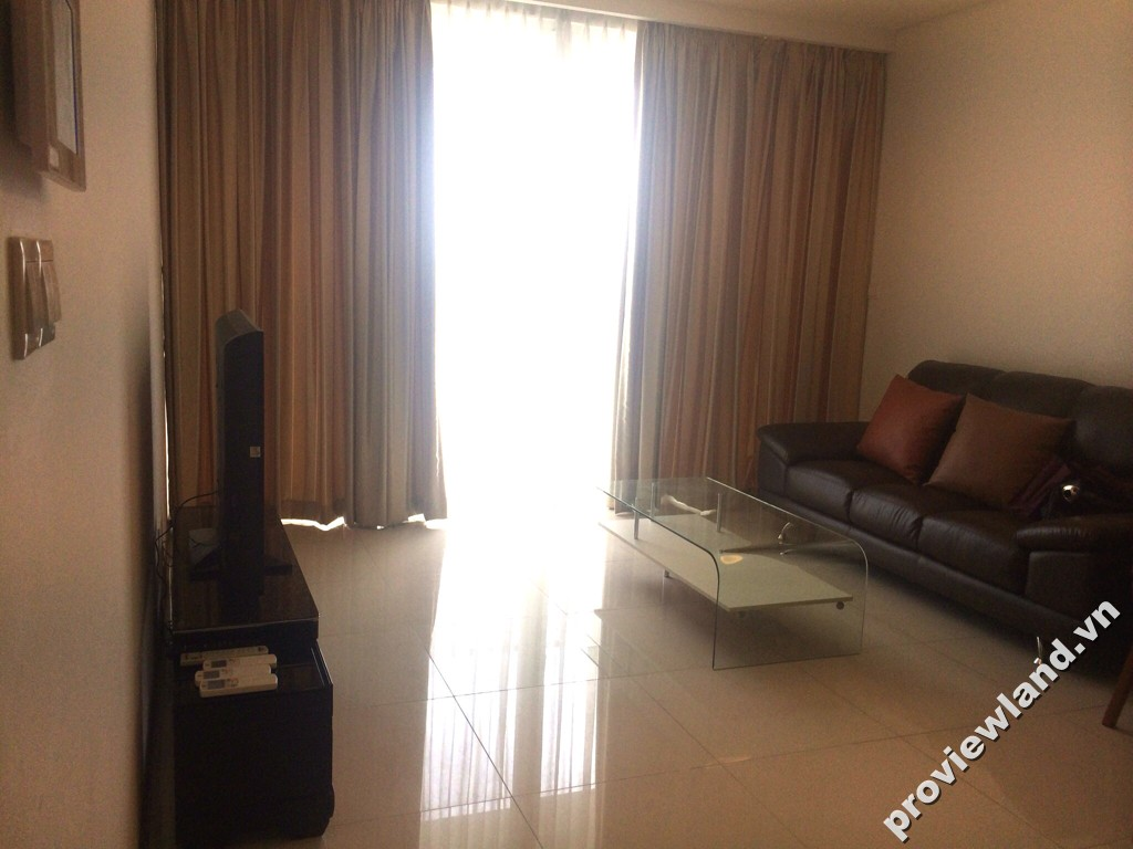 Cho thuê căn hộ Thảo Điền Pearl lầu cao 105m2 2 phòng ngủ nội thất đầy đủ