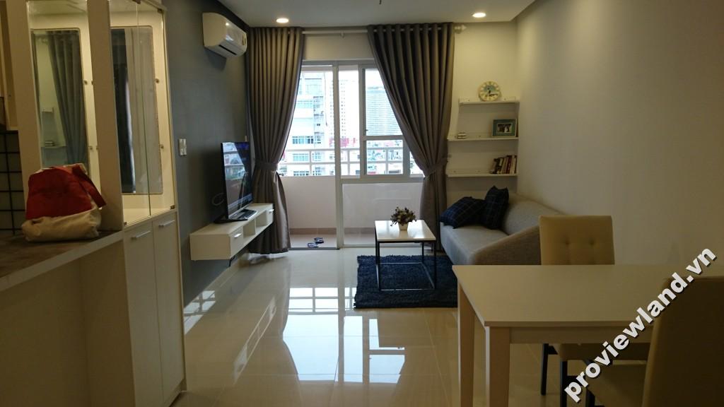 Cho thuê căn hộ Saigon Land 90m2 3 phòng ngủ đầy đủ nội thất