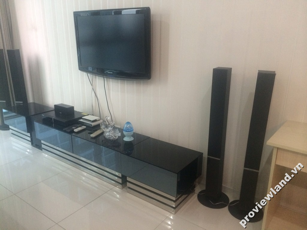 Cho thuê căn hộ The Vista 138m2 3 phòng ngủ nội thất sang trọng tiện nghi