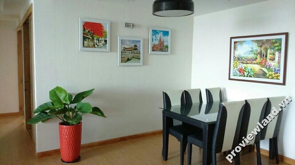 Cho thuê căn hộ Tropic Garden 112m2 3 phòng ngủ view sông nội thất đầy đủ