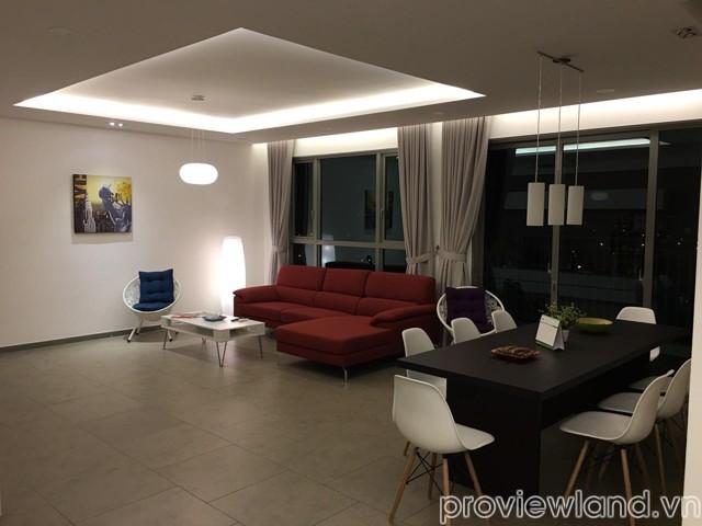 Cho thuê căn hộ Riviera Point 189m2 4 phòng ngủ view sông và Phú Mỹ Hưng