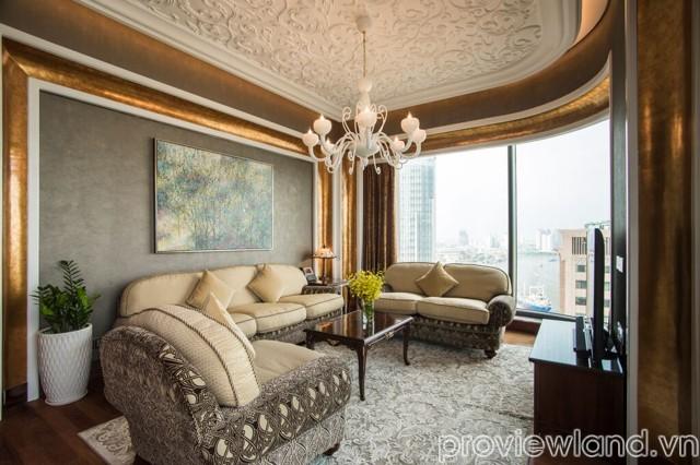 Cho thuê căn hộ dịch vụ quận 1 đường Nguyễn Huệ 2 phòng ngủ đủ nội thất