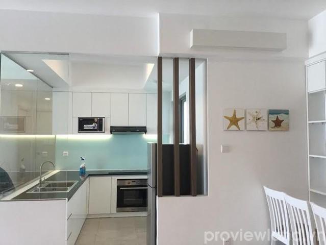 Cho thuê căn hộ Riviera Point tháp T3 100m2 2 phòng ngủ ban công view sông