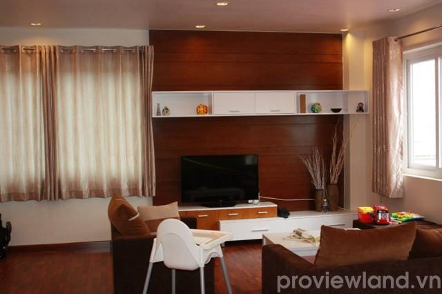 Cho thuê căn hộ dịch vụ đường Tống Hữu Định 250m2 3 phòng ngủ tiêu chuẩn cao cấp