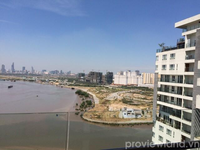 Căn hộ Đảo Kim Cương cho thuê 1 phòng ngủ nội thất cao cấp view sông đẹp