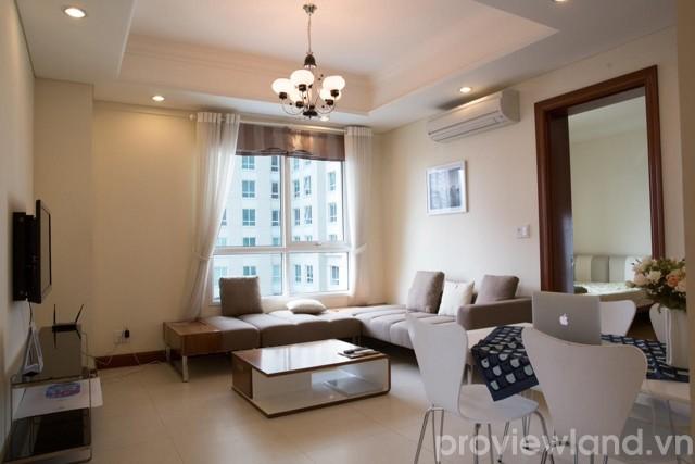 Cho thuê căn hộ The Manor Officetel 80m2 2 phòng ngủ nội thất đẹp mắt
