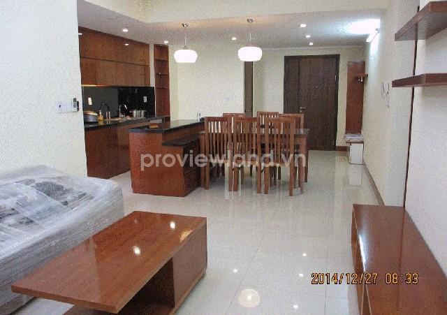 Cho thuê căn hộ Tropic Garden tầng cao 88m2 2 phòng ngủ đầy đủ tiện nghi
