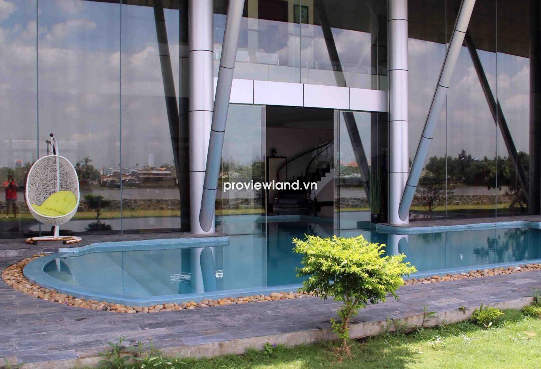 Biệt thự ven sông đường Nguyễn Văn Hưởng đẳng cấp nhất Thảo Điền quận 2