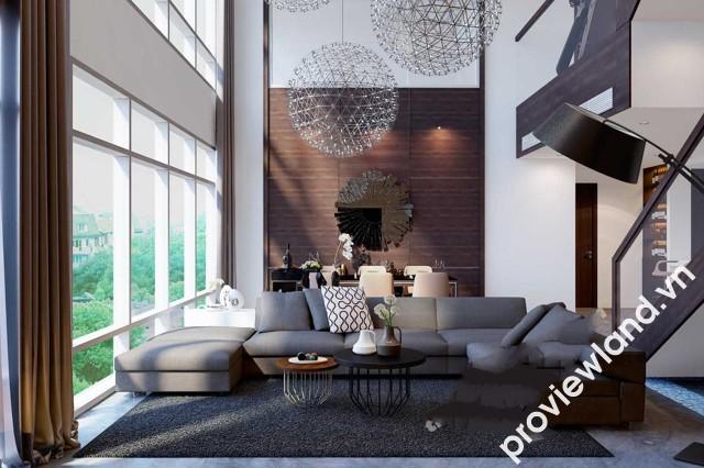 Cho thuê căn hộ Duplex Petroland với 3 tầng 280m2 sân thượng cực rộng