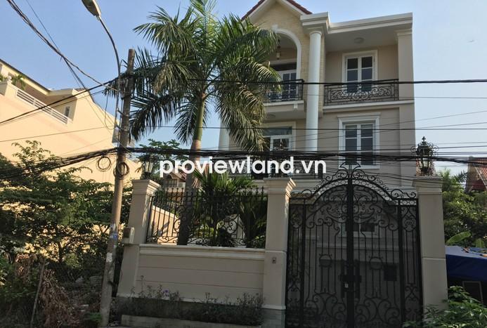 Bán nhà quận 2 đường Đỗ Quang 7x17m 1 trệt 1 lửng giá rẻ