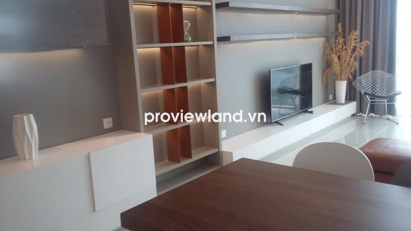 Cho thuê căn hộ The Vista An Phú 145m2 tháp T4 3 phòng ngủ view sông