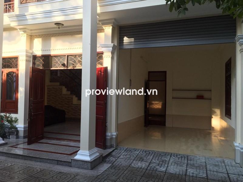 Bán biệt thự hẻm nội bộ đường Quốc Hương quận 2 14x20m 1 trệt 1 lầu