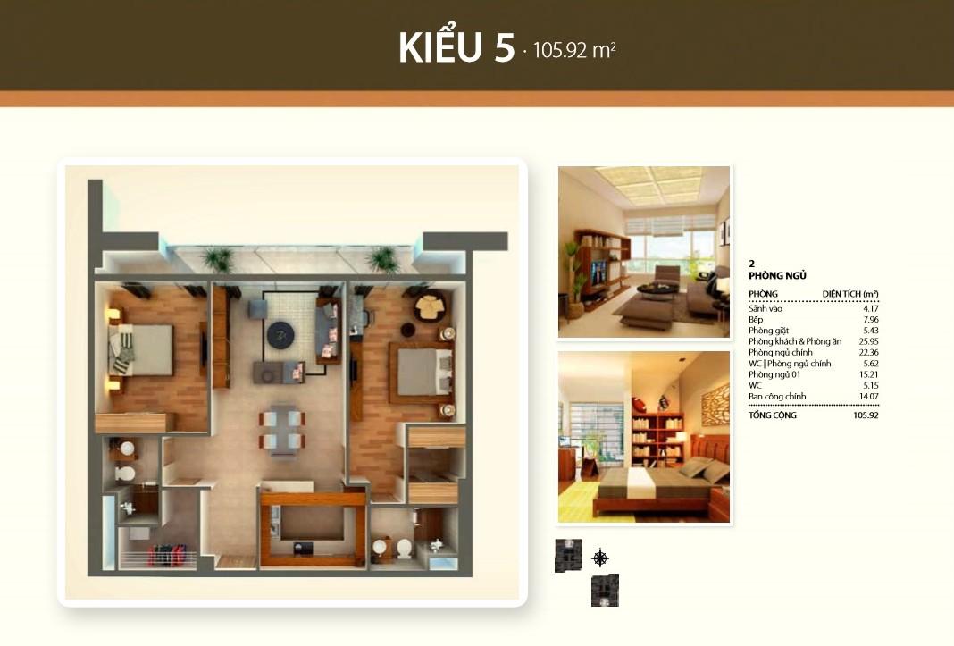 Bán căn hộ Thảo Điền Pearl tầng cao 105m2 2 phòng ngủ view Thanh Đa