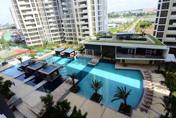 Bán Penthouse The Estella diện tích 226m2 3 phòng ngủ view đẹp