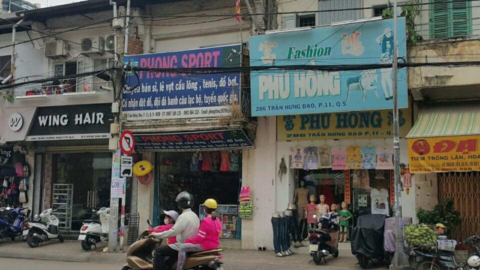 Bán nhà mặt tiền quận 5 đường Trần Hưng Đạo DT 4x20m khu kinh doanh sầm uất