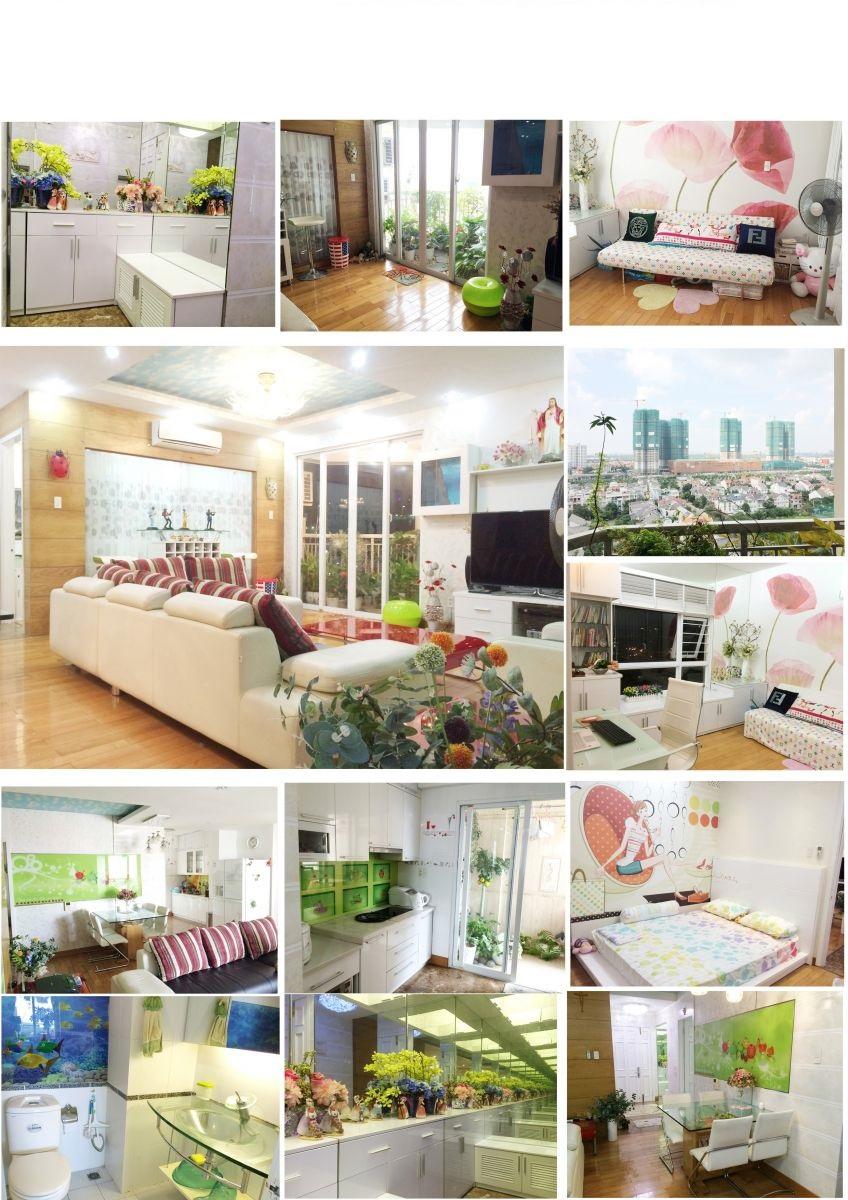 Bán căn hộ An Khang tầng cao 106m2 3PN trang bị đầy đủ nội thất tiện nghi