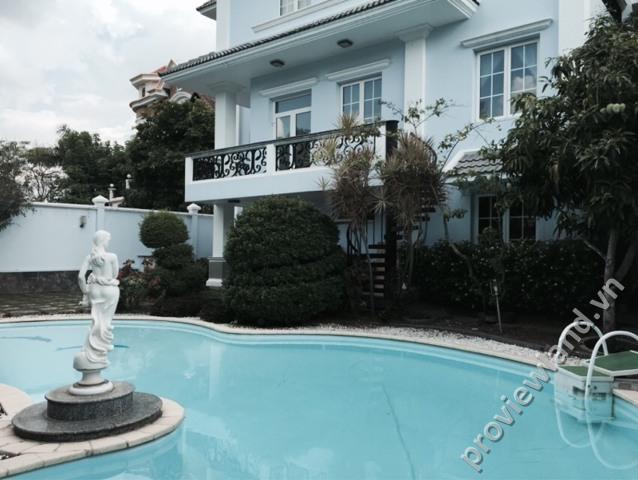 Bán biệt thự khu Compound Thảo Điền 815m2 1 trệt 2 lầu 4PN hồ bơi sân vườn rộng rãi