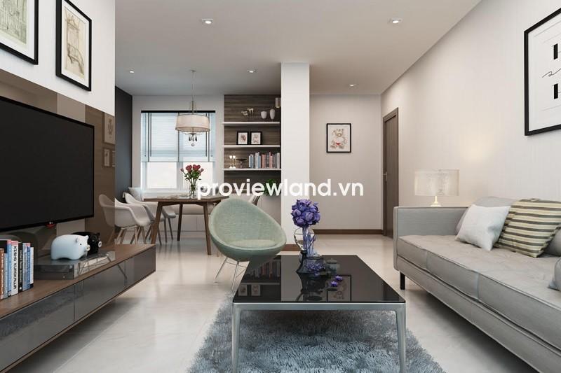 Cho thuê căn hộ quận 2 dự án Lexington Residence với 3 phòng ngủ thiết kế độc đáo