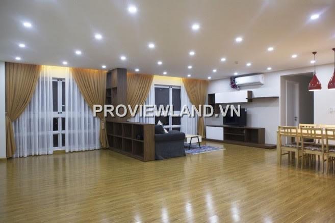 Căn hộ Happy Valley cho thuê 135m2 3PN sàn gỗ nội thất cao cấp thiết kế đẹp mắt