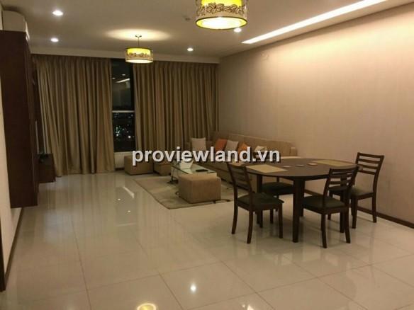 Cho thuê căn hộ Thảo Điền Pearl quận 2 DT 136m2 3PN nội thất cao cấp vị trí đẹp