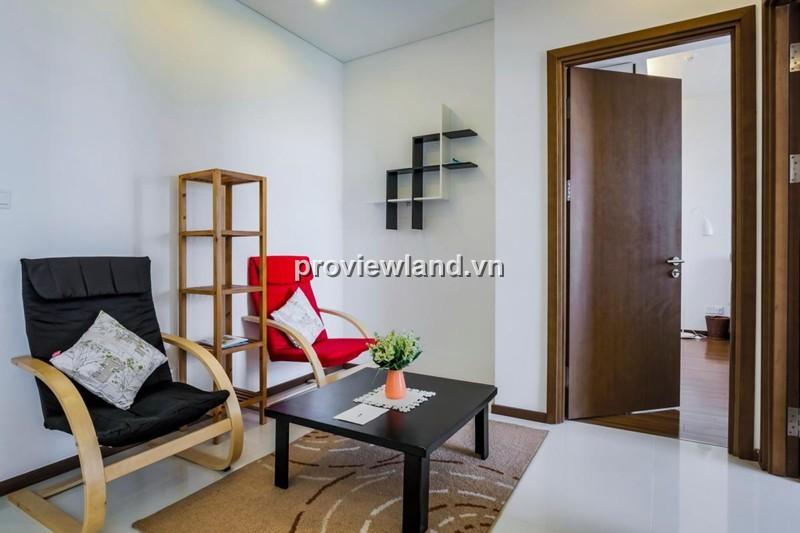 Cho thuê căn hộ Thảo Điền Pearl 95m2 2PN đầy đủ nội thất phong cách Tây Âu