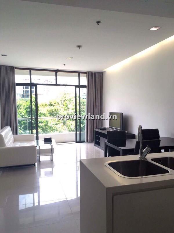 Cho thuê căn hộ City Garden Bình Thạnh 70m2 1PN thiết kế mở đầy đủ nội thất