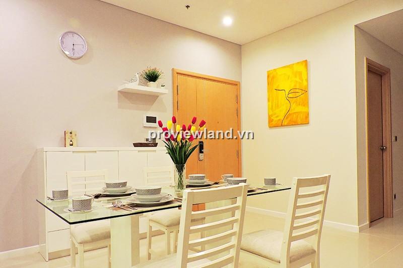 Cho thuê căn hộ Sala quận 2 DT 88m2 2PN tầng cao view thành phố đầy đủ nội thất