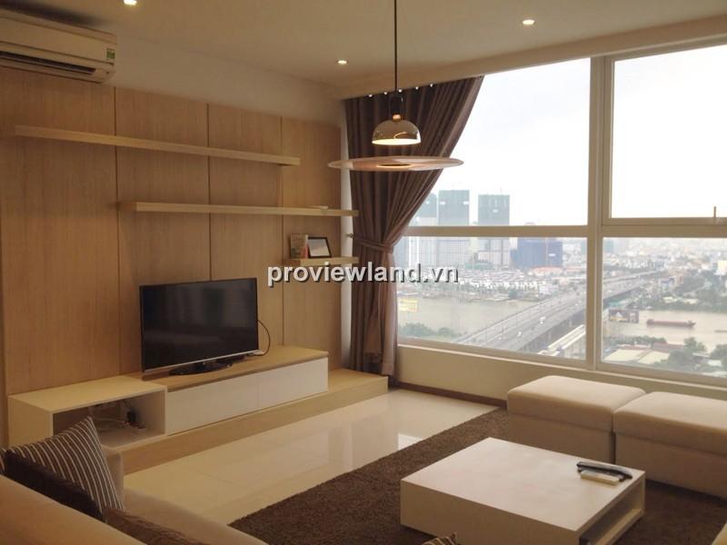 Căn hộ Thảo Điền Pearl 3PN 132m2 tầng cao full nội thất view đẹp cần cho thuê