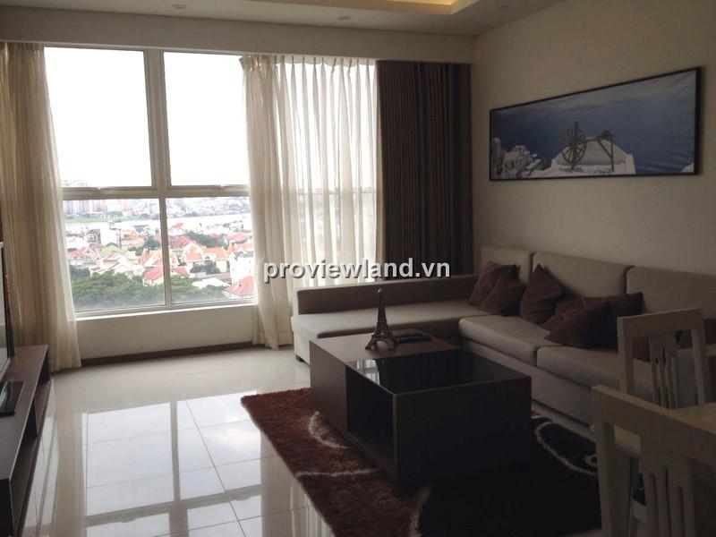 Cho thuê căn hộ 134m2 3PN Thảo Điền Pearl đầy đủ nội thất view sông đẹp mắt