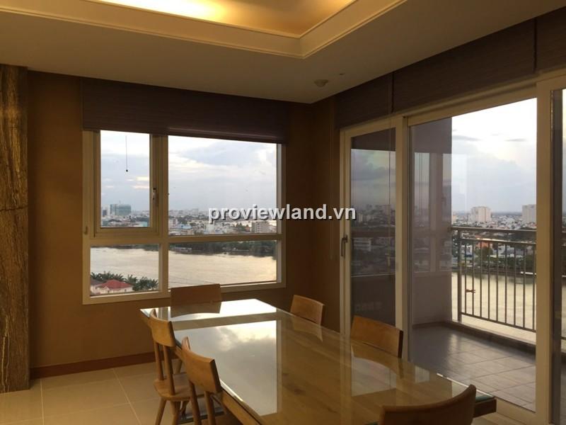 Cho thuê căn hộ cao cấp XI Riverview 201m2 3PN full nội thất có ban công view sông
